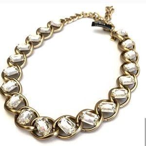 BANANA REPUBLIC crystal statement necklace NWT$108